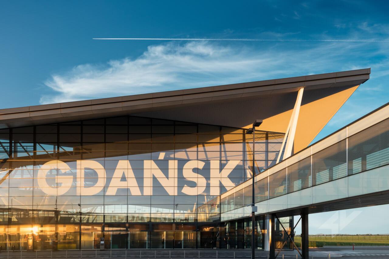 Port Lotniczy Gdańsk im. Lecha Wałęsy fot. airport.gdansk.pl